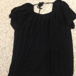 Old navy black blouse